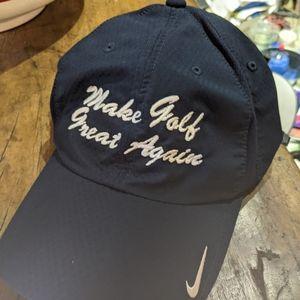 NWOT Nike Make Golf Great Again Cap